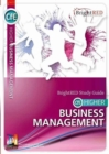 CfE Higher Business Management Study Guide - Book