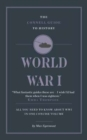 The Connell Guide To World War I - Book