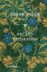 Art and Decoration : Being Extracts from Reviews and Miscellanies - Book