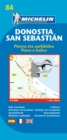 San Sebastian - Michelin City Plan 84 : City Plans - Book