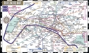 Streetwise Paris Metro Map - Laminated Metro Map of Paris, France : City Plans - Book