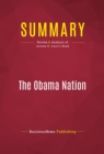 Summary: The Obama Nation : Review and Analysis of Jerome R. Corsi's Book - eBook