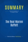 Summary: The Real Warren Buffett : Review and Analysis of O'Loughlin's Book - eBook