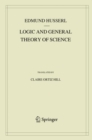 Logic and General Theory of Science - Book