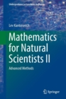 Mathematics for Natural Scientists II : Advanced Methods - Book