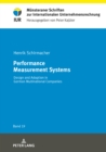 Performance Measurement Systems : Design and Adoption in German Multinational Companies - Book