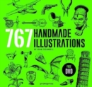 Handmade Illustration: 767 Handmade Illustrations - Book