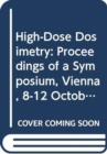 High Dose Dosimetry - Book