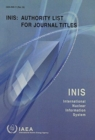 INIS: Authority List for Journal Titles - Book