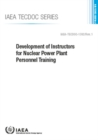 Development of Instructors for Nuclear Power Plant Personnel Training - Book