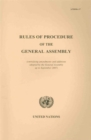 Rules of Procedure of the General Assembly : (Embodying Amendments and Additions Adopted by the General Assembly Up to September 2007) - Book
