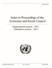 Index to the Proceedings of the Economic and Social Council 2011 - Book