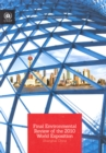Final environmental review of the 2010 World Exposition : Shanghai, China - Book