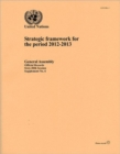 Strategic Framework for the Period 2012-2013 - Book
