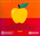 Codex Alimentarius CD-ROM 2008 : International Food Standards - Book