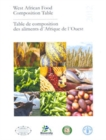 West African Food Composition Table : Table de Composition des Aliments d'Afrique de l'Ouest - Book