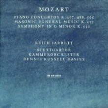 Mozart Piano Concertos K467, 488, 595/Masonic Funeral Music K477: Symphony in G Minor K550, CD / Album Cd