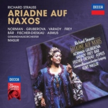 Richard Strauss: Ariadne Auf Naxos, CD / Album Cd