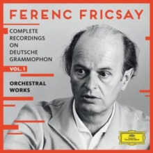 Ferenc Fricsay: Complete Recordings On Deutsche Grammophon: Orchestral Works, CD / Box Set Cd