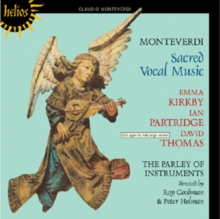 Claudio Monteverdi: Sacred Vocal Music, CD / Album Cd