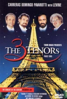 The Three Tenors: Paris 1998, DVD DVD
