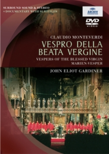Vespro Della Beata Vergine: The Monteverdi Choir, DVD  DVD