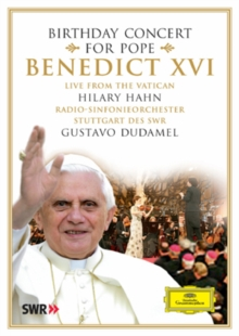 Birthday Concert for Pope Benedict XVI, DVD  DVD