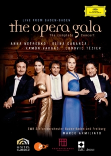 The Opera Gala - The Complete Concert Live from Baden-Baden, DVD DVD