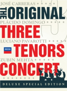 The Three Tenors: In Concert, DVD DVD