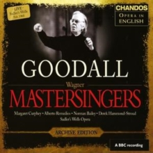 Mastersingers of Nuremburg, The (Goodall), CD / Album Cd