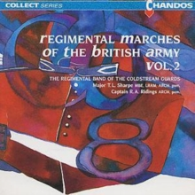 Regimental Marches of the british Army vol 2, CD / Album Cd