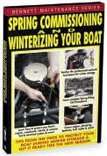 Spring Commissioning and Winterizing Your Boat, DVD  DVD