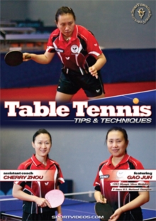 Table Tennis Tips and Techniques, DVD  DVD