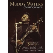Muddy Waters: Classic Concerts, DVD  DVD