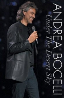 Andrea Bocelli: Under the Desert Sky - Live in Las Vegas, DVD  DVD