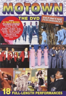 Motown: The DVD - Definitive Performances, DVD  DVD