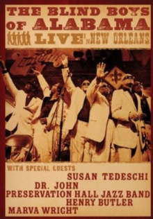Blind Boys of Alabama: Live in New Orleans, DVD  DVD