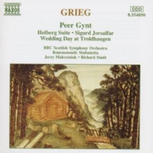 Grieg: Orchestral Music, CD / Album Cd