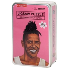 Lagoon Hipstory 500 Piece Jigsaw - Barack Obama, General merchandize Book