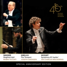 Scottish Chamber Orchestra: 40th Special Anniversary Edition, CD / Album Cd
