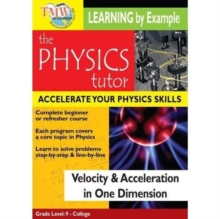 Physics Tutor: Velocity and Acceleration in One Dimension, DVD  DVD