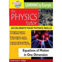 Physics Tutor: Equations of Motion in One Dimension, DVD  DVD