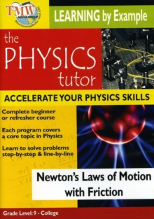 Physics Tutor: Newton's Laws of Motion With Friction, DVD  DVD