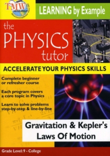 Physics Tutor: Gravitation and Kepler's Laws of Motion, DVD  DVD