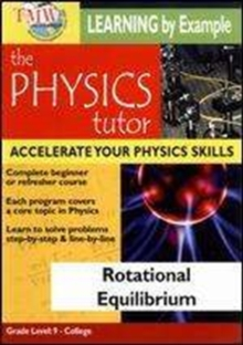Physics Tutor: Rotational Equilibrium, DVD  DVD