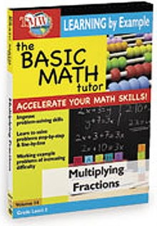 The Basic Math Tutor: Multiplying Fractions, DVD DVD