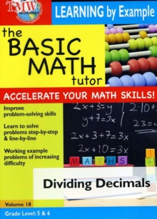 The Basic Math Tutor: Dividing Decimals, DVD DVD