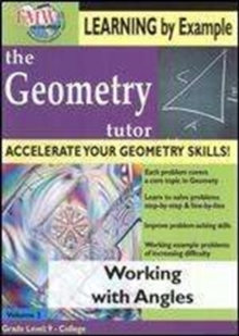 Geometry Tutor: Working With Angles, DVD  DVD