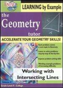 Geometry Tutor: Working With Intersecting Lines, DVD  DVD