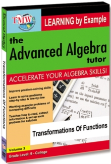 The Advanced Algebra Tutor: Transformations of Functions, DVD DVD